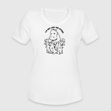 Not Like The Otters Not Like The Otters - Women's Moisture Wicking Performance T-Shirt