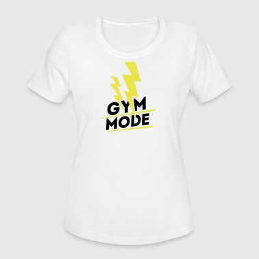 Gym Mode, gym wear - Women's Moisture Wicking Performance T-Shirt