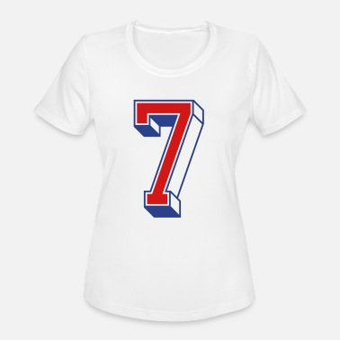 Jersey Number Vintage Jersey number 7 - Women's Sport T-Shirt