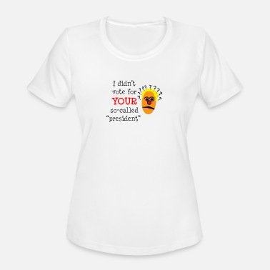 Democrat SO-CALLED president - Women's Sport T-Shirt