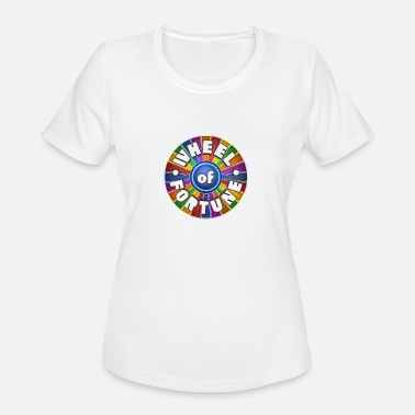 Fortune Wheel of Fortune logo Shirt - Women's Sport T-Shirt