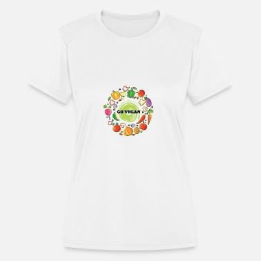 a903a9e1 Veggie Go vegan - Women's Sport T-Shirt