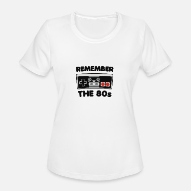 Remember Remember the 80 s - Women's Sport T-Shirt