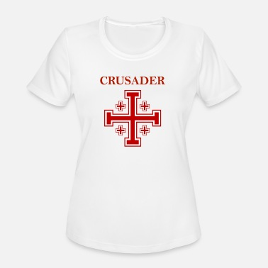 Templar Knights Jerusalem Knight - Women's Sport T-Shirt