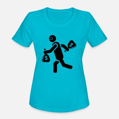 Crooked crooks - Women's Sport T-Shirt