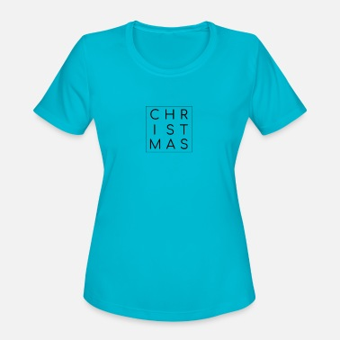 Traditional Christmas Square - Women's Sport T-Shirt