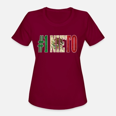 Mexican Nieto Gift Mexican Design For Mexican Flag Design for Mexican Pride Vintage Outline - Women's Sport T-Shirt