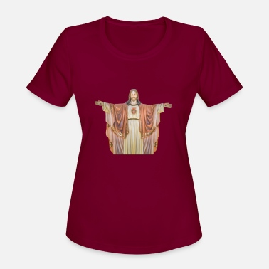 Sculpture Jesus Christ Sculpture - Women's Sport T-Shirt