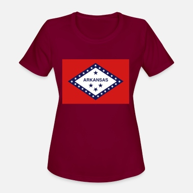 State Flag Arkansas State Flag - Women's Sport T-Shirt