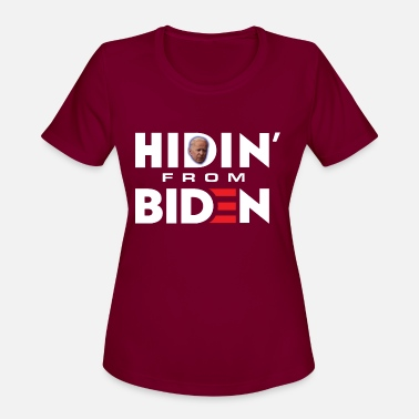 HIDIN' FROM BIDEN TEES - Women's Sport T-Shirt