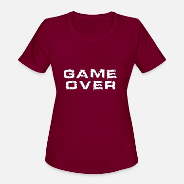 Game Over Game Over - Women's Sport T-Shirt