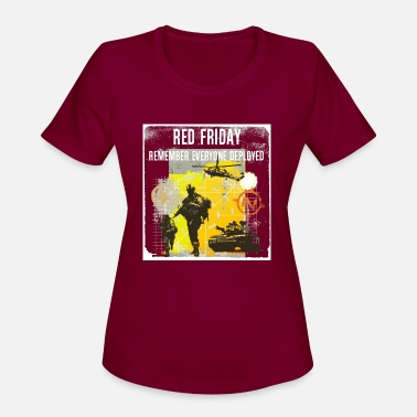 Wounded Red Friday - Men's T-Shirt - Women's Sport T-Shirt