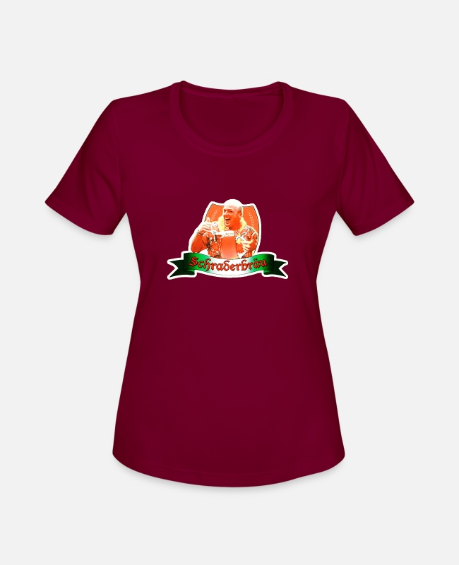 Breaking-bad-shir T-Shirts - Schraderbrau - Women's Sport T-Shirt burgundy