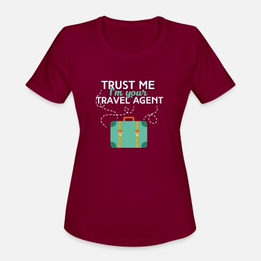 Travel Agent Travel agent - Trust me I'm your travel agent - Women's Sport T-Shirt