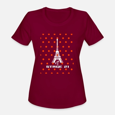Stage Stage 21 Tour the France Bike RaceMountain Leader - Women's Sport T-Shirt