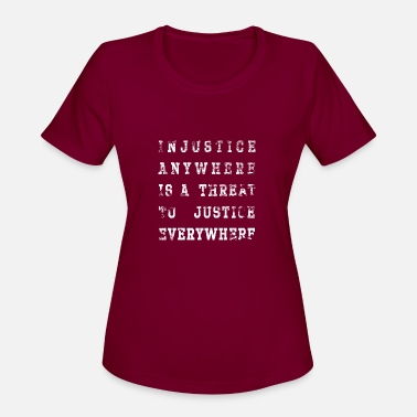 Injustice injustice - Women's Sport T-Shirt