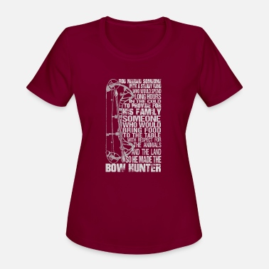 Bow Rider Bow hunter - Awesome bow hunter t-shirt - Women's Sport T-Shirt