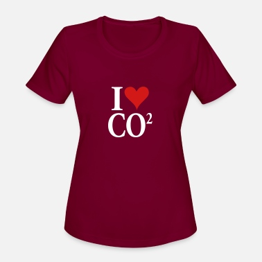 Co2 love_co2 - Women's Sport T-Shirt