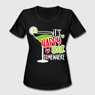 Party Time Happy Hour Happy Hour Friends Party Night - Women's Moisture Wicking Performance T-Shirt