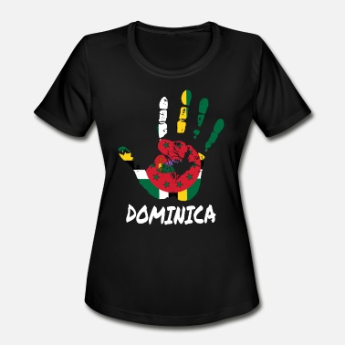 Dominica Designs Dominica - Women's Moisture Wicking Performance T-Shirt