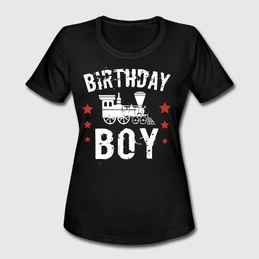 Dirty Sportswear birthday boy t shirts - Women's Moisture Wicking Performance T-Shirt