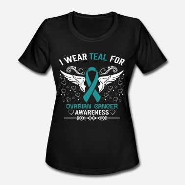 Ovarian Cancer Ovarian Cancer Awareness - Women's Moisture Wicking Performance T-Shirt