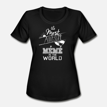 Brother Meme Awesome Meme Mimi Meme - Women's Moisture Wicking Performance T-Shirt