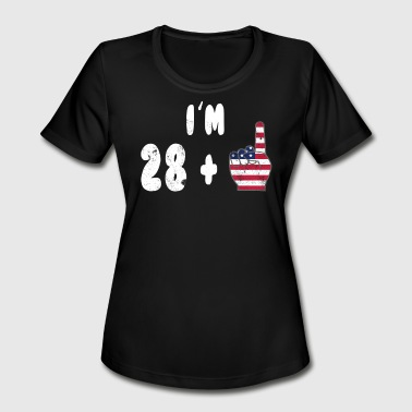 29th Birthday Gift Ideas 29th Birthday Shirt Novelty Birthday - Women's Moisture Wicking Performance T-Shirt