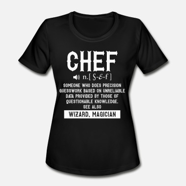 Proud Mom Of Chef Chef T Shirt - Women's Sport T-Shirt