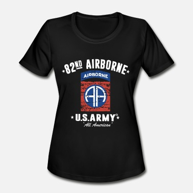 82nd Airborne 82nd Airborne Division Classic veteran T Shirts - Women's Sport T-Shirt