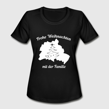 Spandau Merry Christmas Family Germany Berlin - Women's Moisture Wicking Performance T-Shirt
