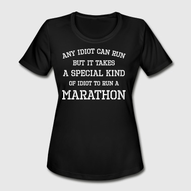 Jog Sports Wear Running - Marathon, Half Marathon, Jogging, Sport - Women's Moisture Wicking Performance T-Shirt