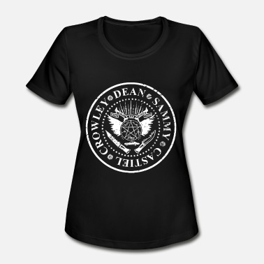 Dean Supernatural Sam Dean Winchester 67 Impala Castiel - Women's Moisture Wicking Performance T-Shirt