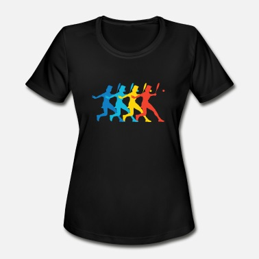 Tennis Art Tennis Player Pop Art - Women's Sport T-Shirt
