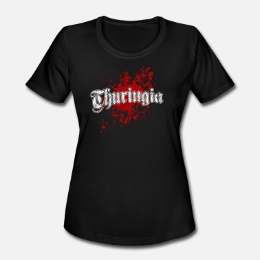Thuringia Thuringia - Women's Moisture Wicking Performance T-Shirt