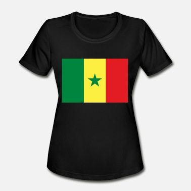 Senegal Senegal - Women's Moisture Wicking Performance T-Shirt