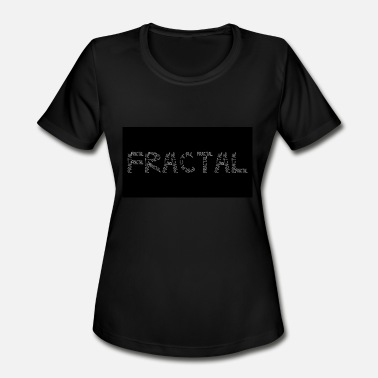 Fractal Geek Fractal - Women's Moisture Wicking Performance T-Shirt