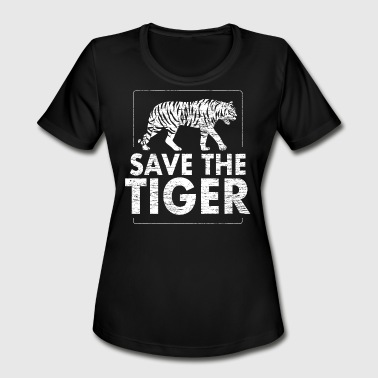 Save the tiger Animal Protection - Women's Moisture Wicking Performance T-Shirt