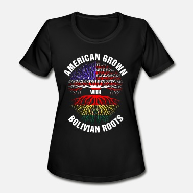 Bolivian American American Grown Bolivian Roots - Women's Sport ...