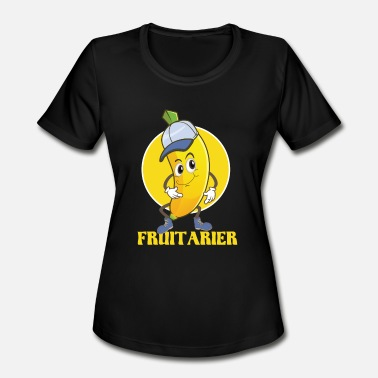 Fruitarian Fruitarian Banana Funny t-shirt for fruits fan - Women's Sport T-Shirt