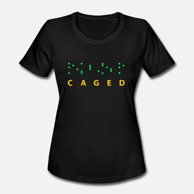 Caged CAGED - Women's Moisture Wicking Performance T-Shirt