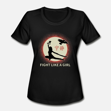 Serenity Now Serenity - Serenity - fight like a girl - Women's Sport T-Shirt