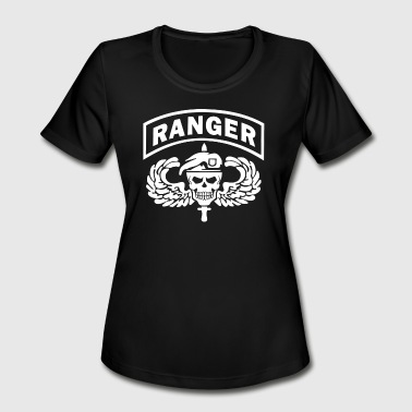 Us Army Ranger US Army Ranger Skull - Women's Moisture Wicking Performance T-Shirt