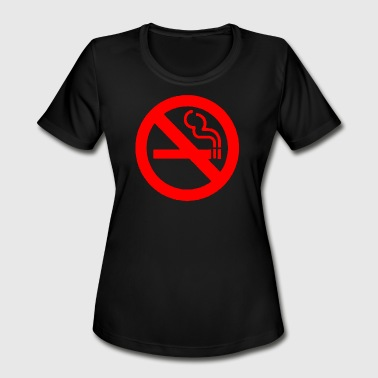 Smoking Ban NO SMOKING - Women's Moisture Wicking Performance T-Shirt