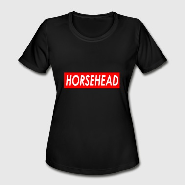 Xavier Wulf Horsehead - Women's Moisture Wicking Performance T-Shirt
