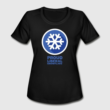 Proud Snowflake proud snowflake - Women's Moisture Wicking Performance T-Shirt