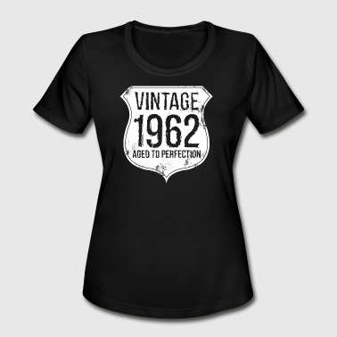 1962 Aged To Perfection Vintage 1962 Aged of Perfection - Women's Moisture Wicking Performance T-Shirt