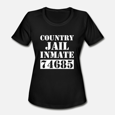 Inmate County Jail Prison Inmate 74685 - Women's Moisture Wicking Performance T-Shirt