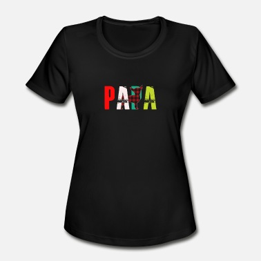 Papa Joke Papa - Women's Moisture Wicking Performance T-Shirt