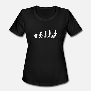 Cool Pilot Cool Evolution of Pilot Theory - Women's Moisture Wicking Performance T-Shirt